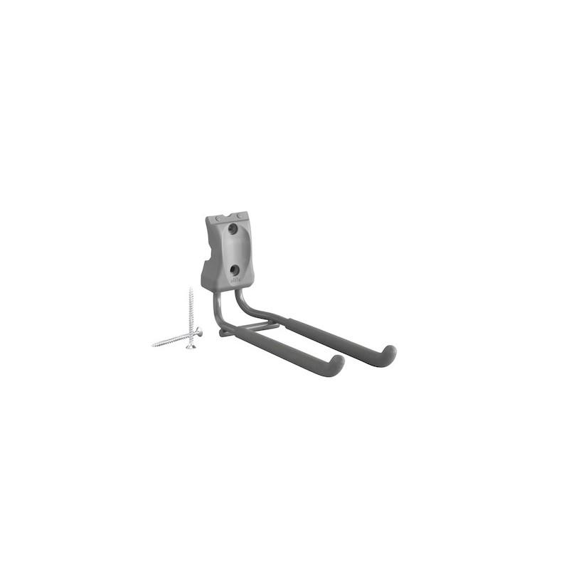 Crochet à outils droit Gris-Elfa