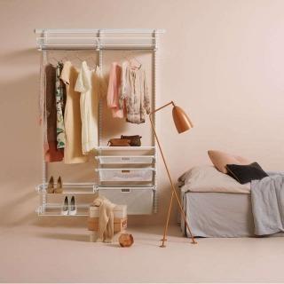 Dressing suspendu Elfa Blanc Petite Dimension