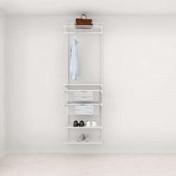 Solution pour placard Elfa Classic Blanc option 2